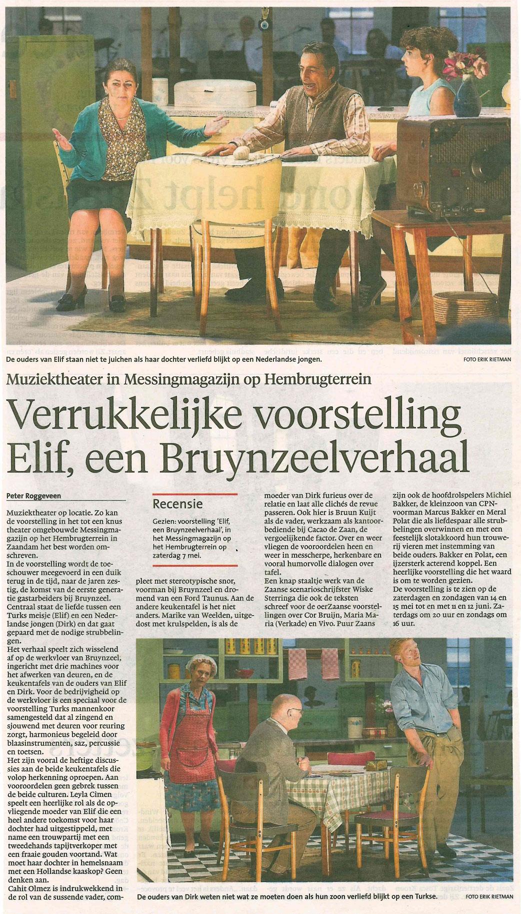Elif-DagbladZaanstreek9-5